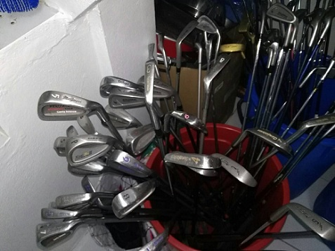 Large Selection Of Second-Hand Golf Clubs For Sale