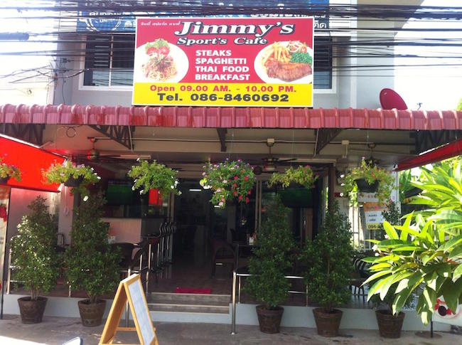 Jimmys Front of House