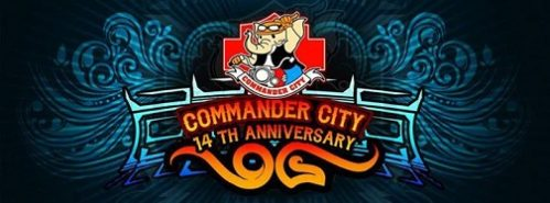 Hundreds Of Bikers Roared Into Buriram To Celebrate Commander City 14th Anniversary