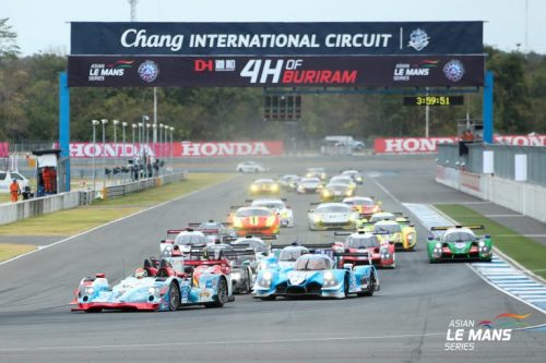 Jackie Chan Team Claim Victory In The Asian Le Mans Series In Buriram