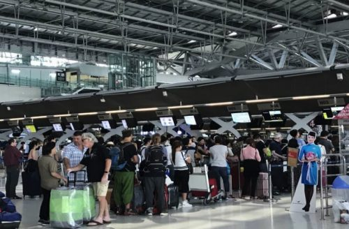 Immigration Queues A Concern At Bangkok Airport