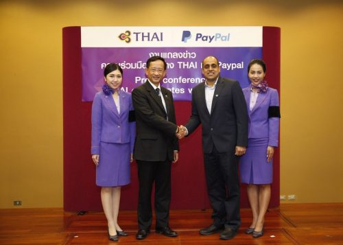 PayPal And Thai Airways International Make Booking For Foreigners Easier