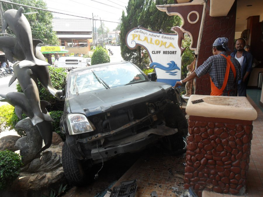 Wacky Races And The Madness Of Driving in Thailand