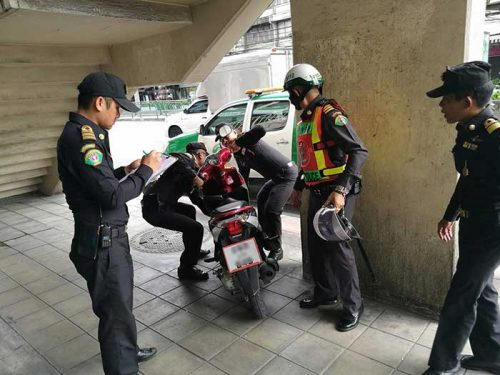Get A Share Of Motorcycle Fines In Bangkok !