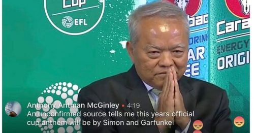 English Carabao Cup Draw Becomes A Comedy Of Errors In Bangkok