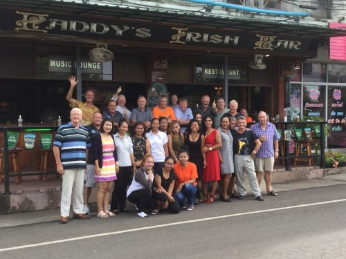Buriram Golf Society's Mid-Season Bash At Paddy's Irish Bar A Huge Success
