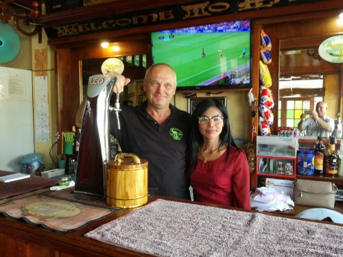 A Warm Buriram Welcome At Paddy's Irish Bar From Mike And Lin