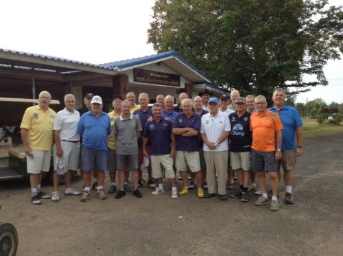 Buriram Golf Society President's Day On December 1