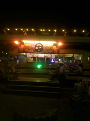 OliWine Bar Add  Fast Food Outlet At The Bus Bar In Buriram