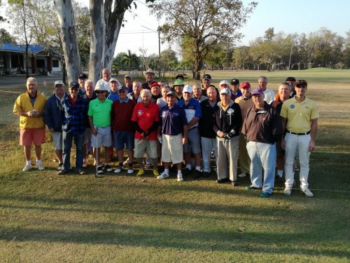 Buriram Golf Society New Year Texas Scramble