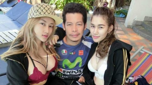 Thai Man With Two Beautiful Wives Shares Secret To Happy Marriage(s)