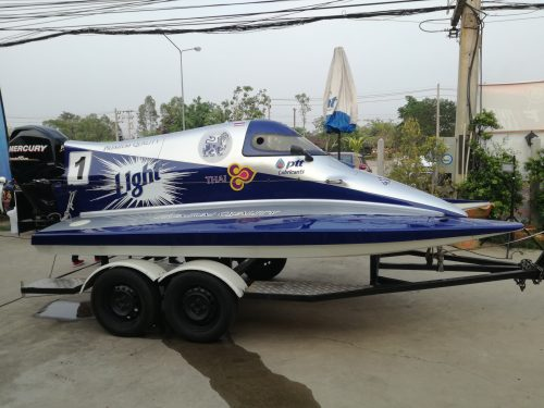 Formula1 Speedboat Comes To Harley Route 288 Bar In Buriram