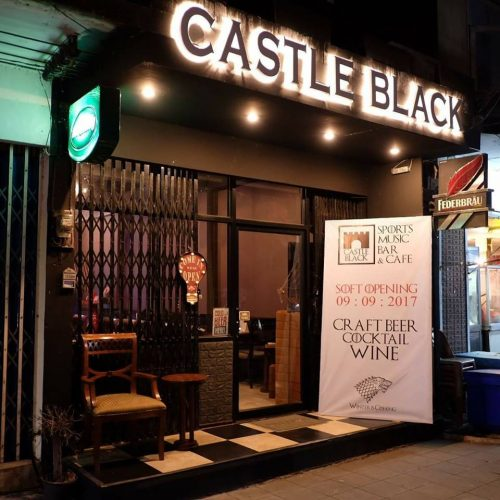 Castle Black Bar Buriram Puts Freshly Made Coffee On The Menu
