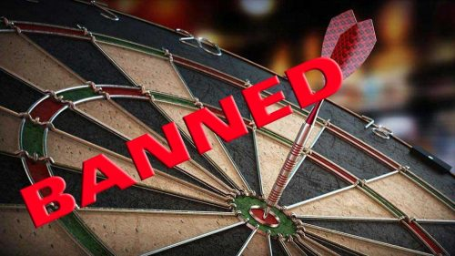 Dart Board Ban Goes Nationwide As Crackdown Continues