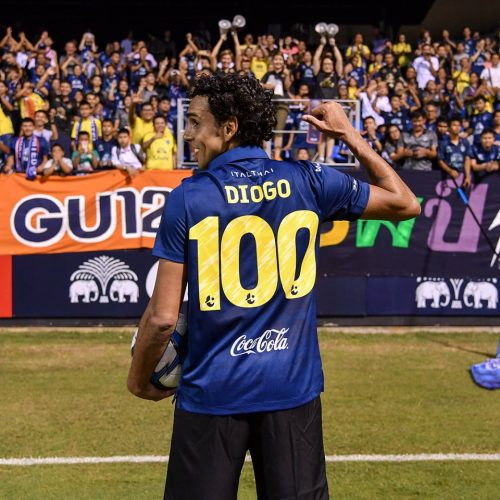 100 Up For Diogo As Hat-Trick Seals Hard-Fought Win At Ubon