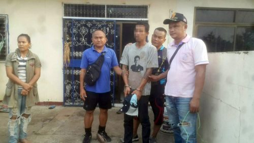 Buriram Man Arrested After Threatening His 5 Year-Old Son With A Knife Live On Facebook