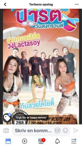 Songkran Party Tomorrow At Harley Route 288 Bar
