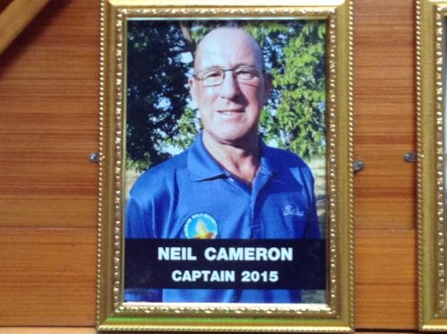 Buriram Golf Society Honour Their Inaugral Captain The Late Neil Cameron