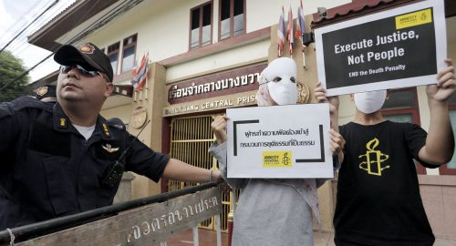Thais Lash Back After Human Rights Groups Condemn Executions