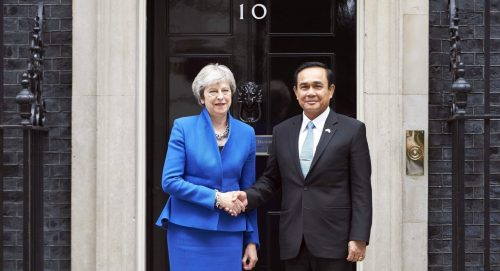 May Presses Prayut On Election Issues
