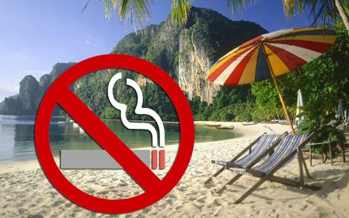 Smoking Ban At Public Beaches Aims To Protect Visitors' Health