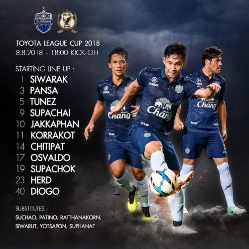 Buriram Ease Into League Cup Semi-Finals With 4-1 Win Over Ubon
