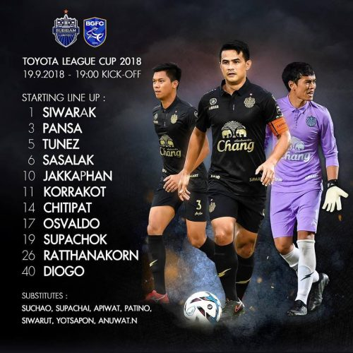 Buriram Bow Out Of League Cup To Bangkok Glass In A Very Low Key Encounter