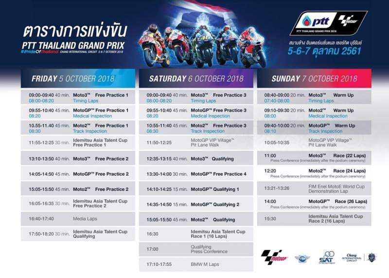 MotoGP Schedule