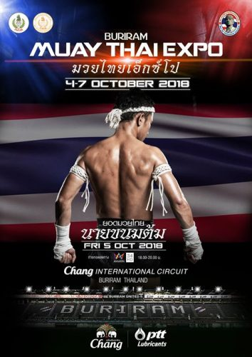 Muay Thai Expo In Buriram During MotoGP Week