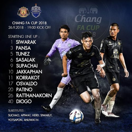 Buriram Made To Fight By Plucky Sisaket In FA Cup Semi-Final