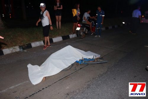 Distraught German Driver Kills Thai Cyclist On Friendship Highway