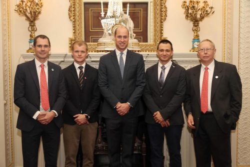 Prince William Meets British Heroes Of Thai Cave Rescue At Buckingham Palace Reception