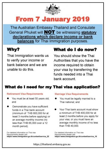 Australia Joins UK And USA With Withdrawal Of Income Verification For Visas