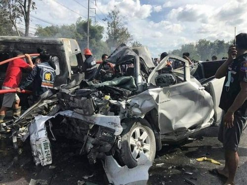 Thailand's Roads Remain Some Of The Deadliest In The World, New Report Reveals