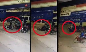 Why Motorcyclists Should Not Stop Right In Front Of Large Trucks
