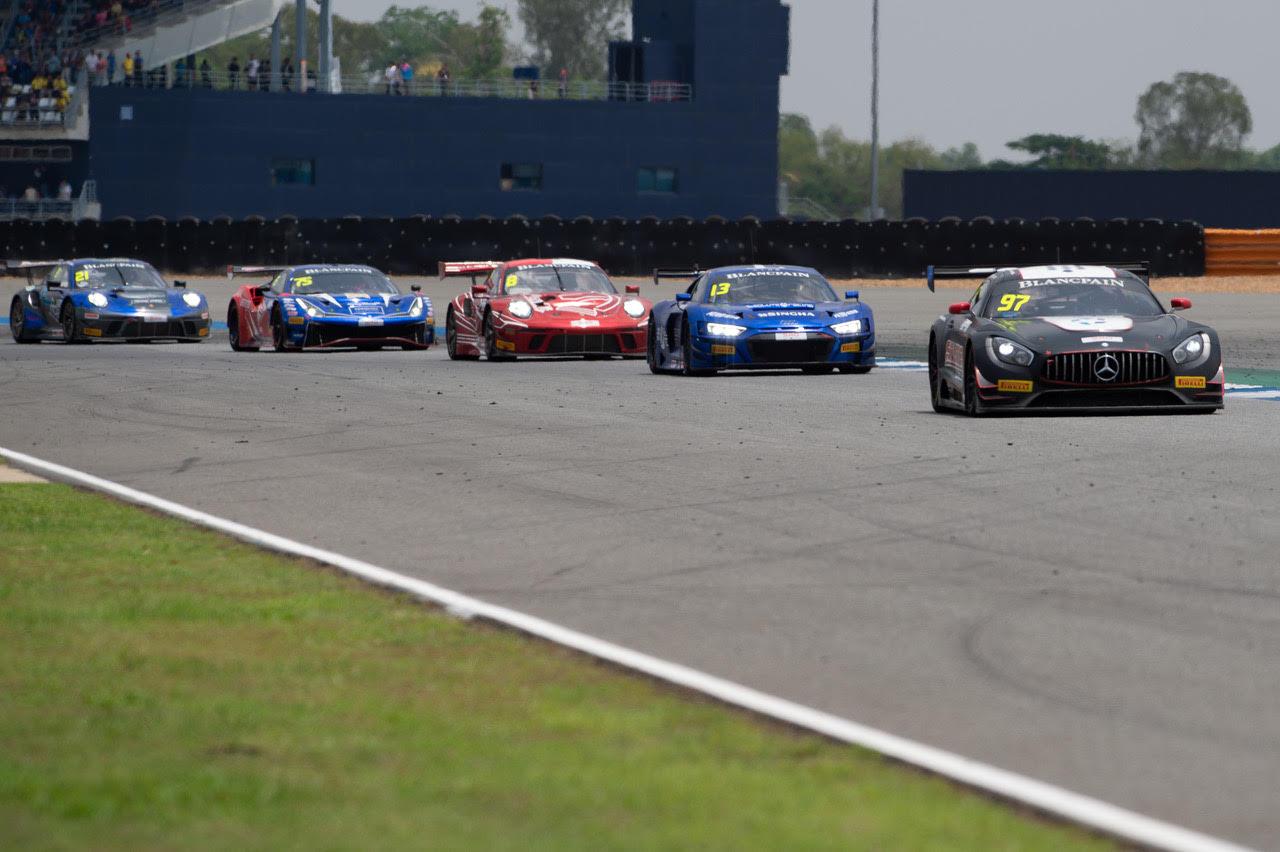 Motor Racing At Buriram