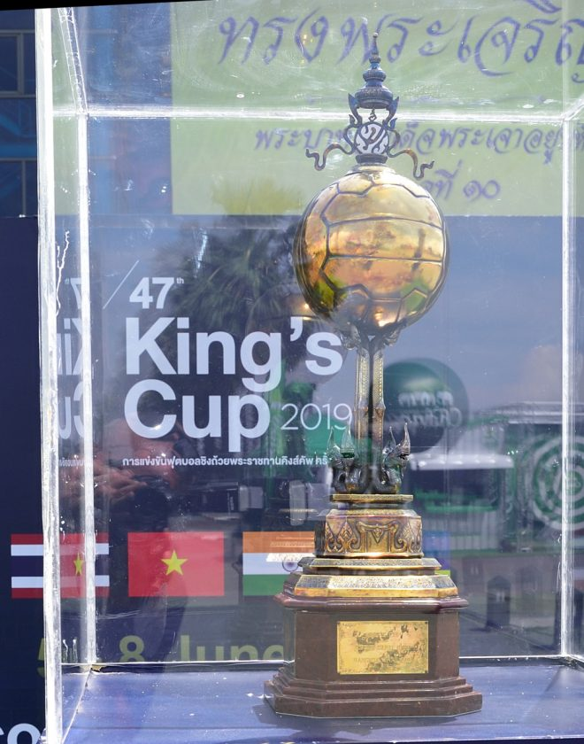 The Kings Cup Competition At Buriram Football Stadium