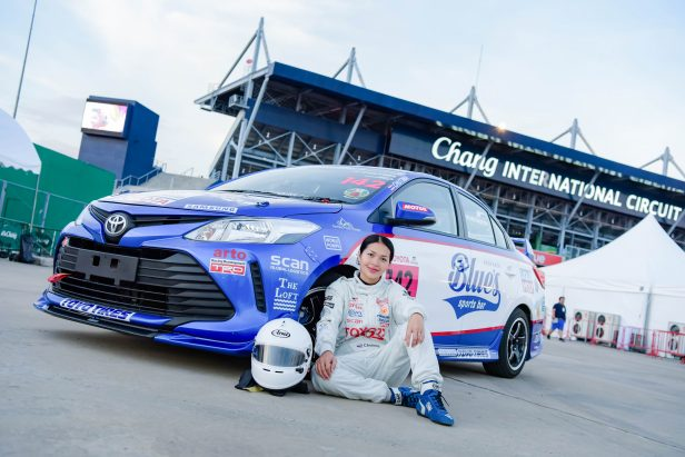 Elle from Khon Kaen Set For A Motor Racing Career